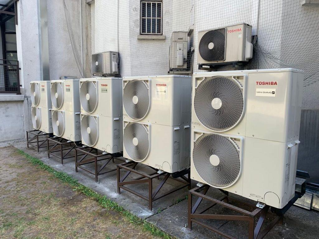Budapest XV. Önkormányzat ipari klíma szerelés